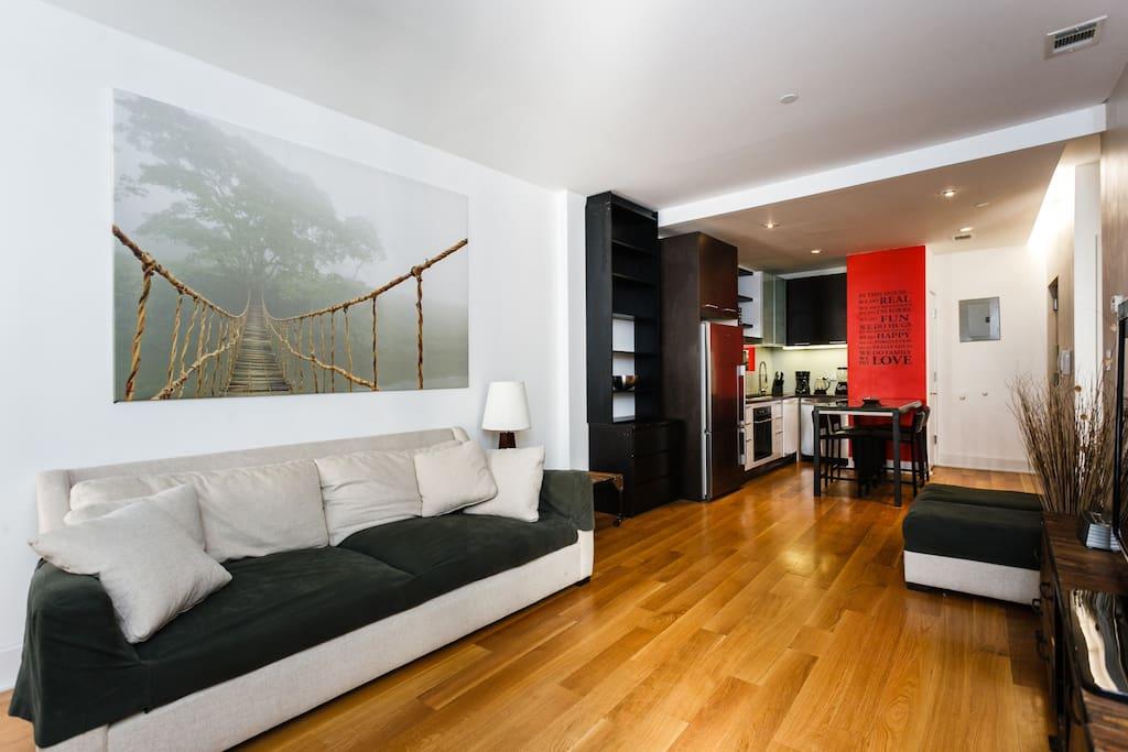 Nyc moderno e confortevole appartamenti in affitto a for Appartamenti affitto nyc