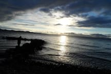 in a quiet position,across the sea..... DIKLO-beautiful scenery,area and a place where the apartment is located