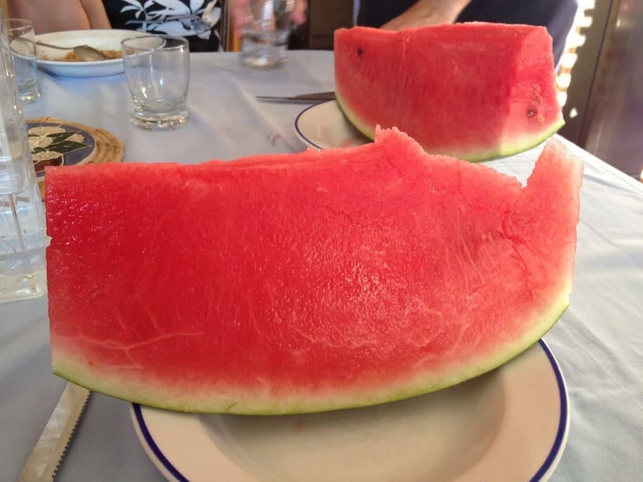 watermelon from my garden
