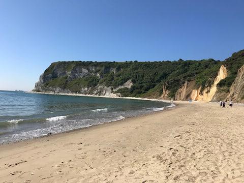 Hermosa casa de vacaciones junto a una de las mejores playas