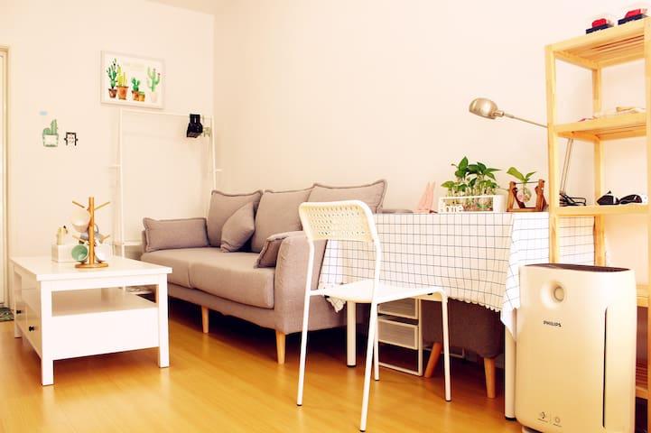 【齐郡】近万象汇/火车站/王府井温馨大床一居室