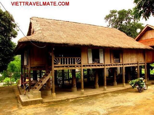 Homestay at Mai Chau-Hoa Binh - Hàng Trống - Huis