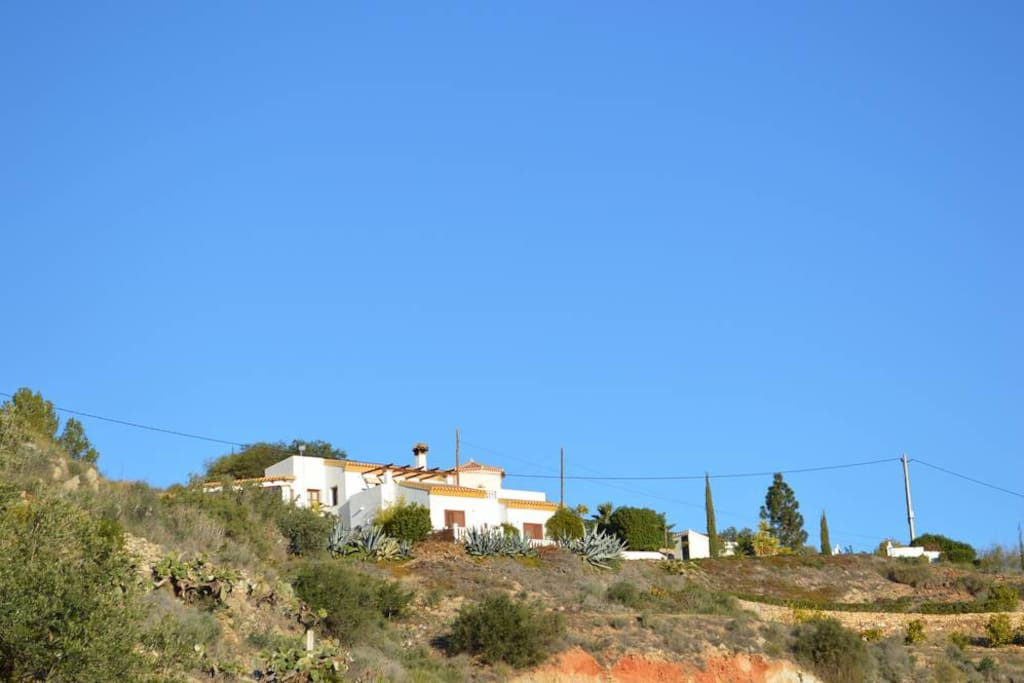 Our villa on the hill