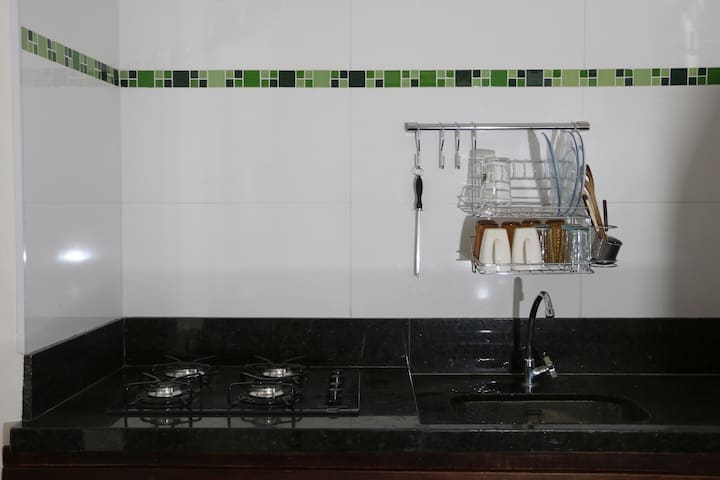 Fully equipped kitchen!