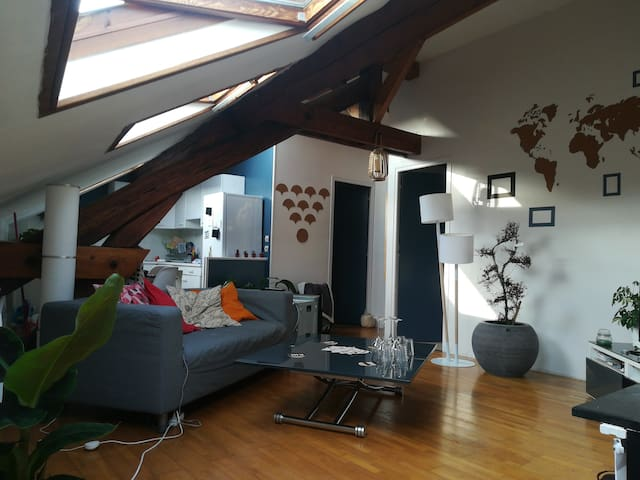 Appartement de charme en banlieue