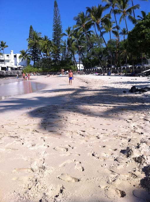 One of the best secrets in Kona at your doorstep - Magic Sands Beach
