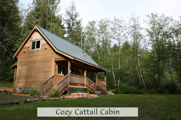 Cozy Cattail Cabin Coastal Retreat - Reedsport - Kabin