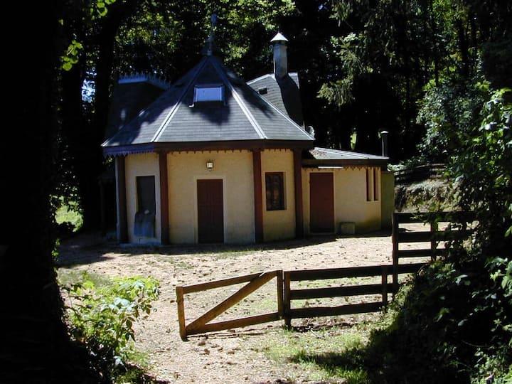 Tea House in Park Grounds
