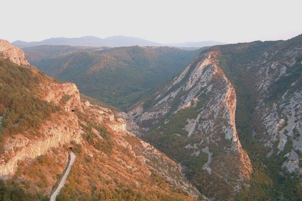 La Val Rosandra in autunno