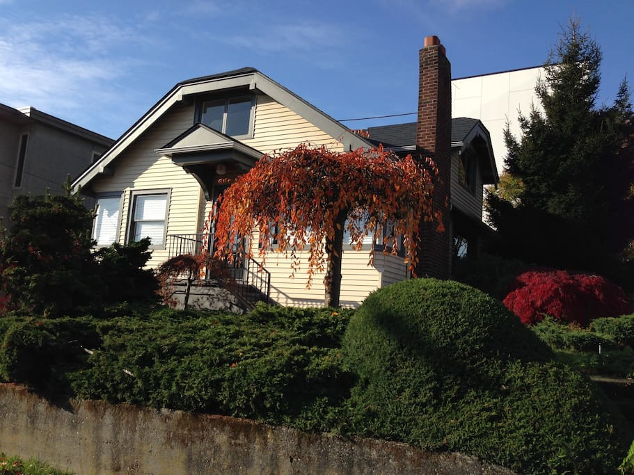 Lovely corner house in Fremont.