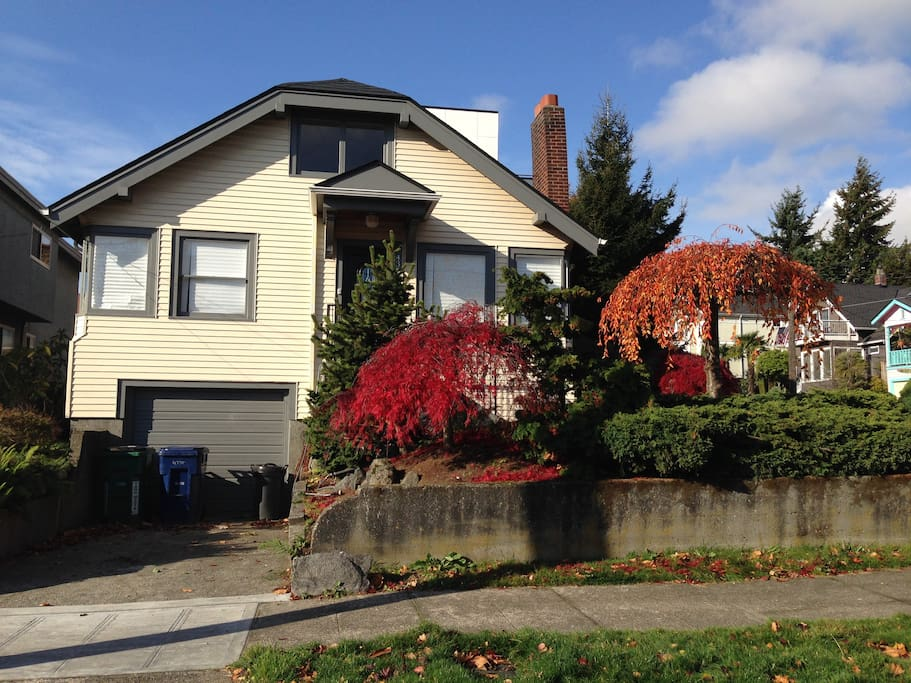 Sunny Craftsman Home In Fremont Houses For Rent In Seattle Washington United States