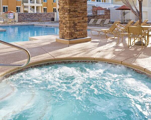Relax your mind and body in Jacuzzi
