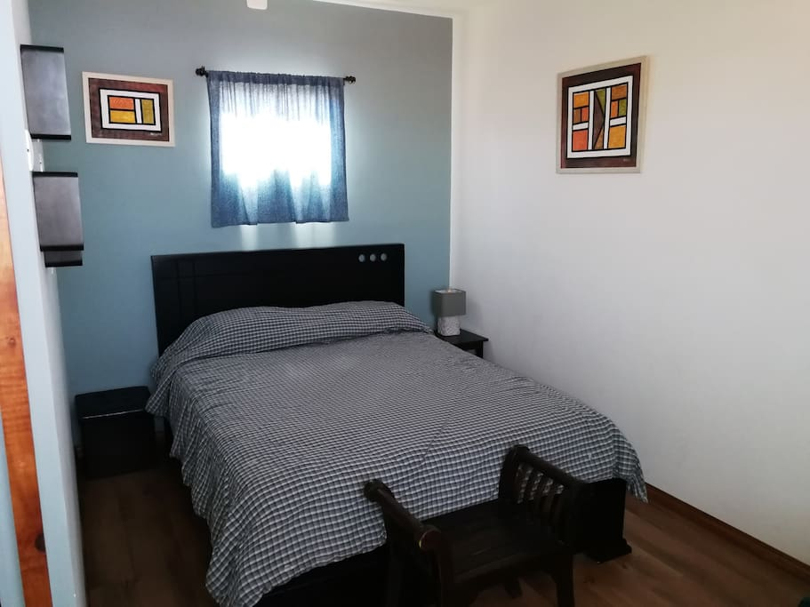 Spacious bedroom with own bathroom  Queen size bed and queen air mattress if needed!