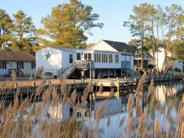 Private pier at The Sanctuary - Chincoteague Island - House