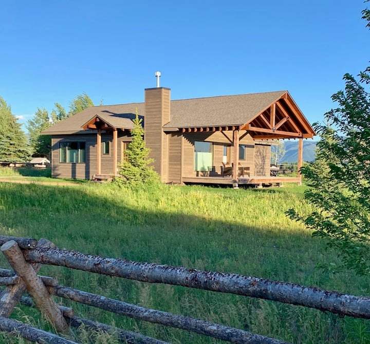 House in Jackson Hole, Teton Views, Close to Park!