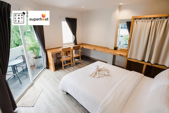 Chalatte Suite Room1.1: Cozy & Convenient Suthep M