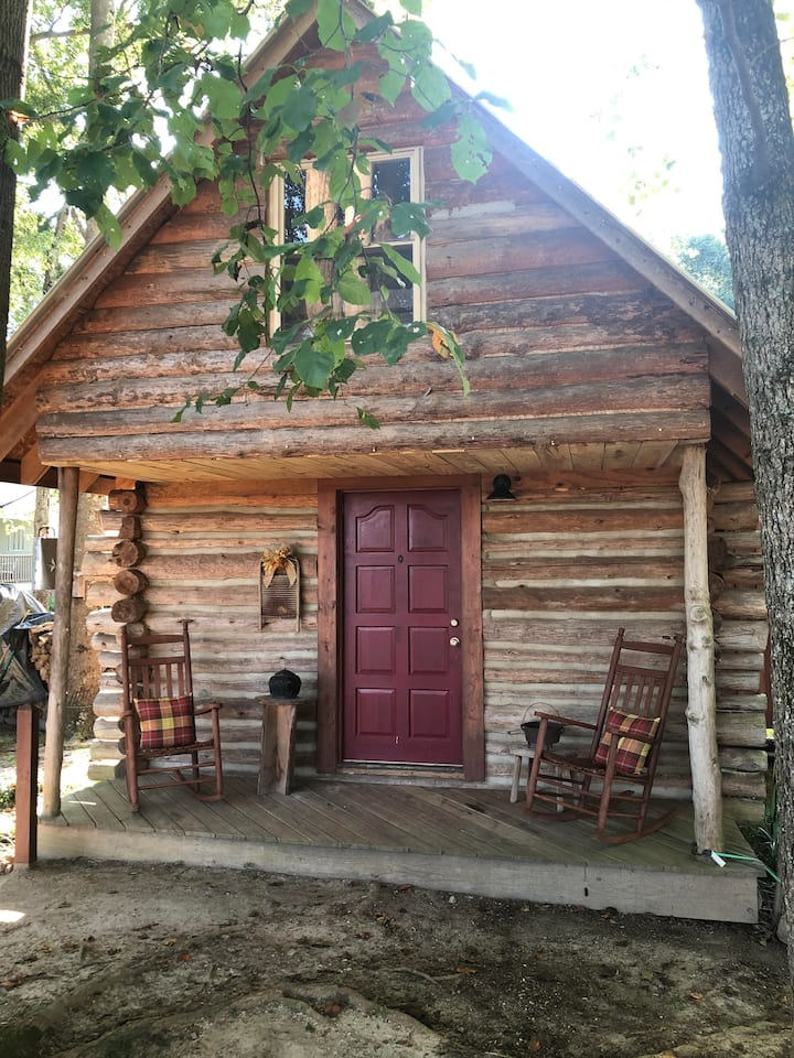 One of a kind Log Cabin