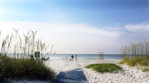 Folly Field Beach, just steps away from your front door