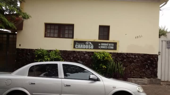 Pousada Cardoso-aptos. 3 e 4 -Seguro e acolhedor.