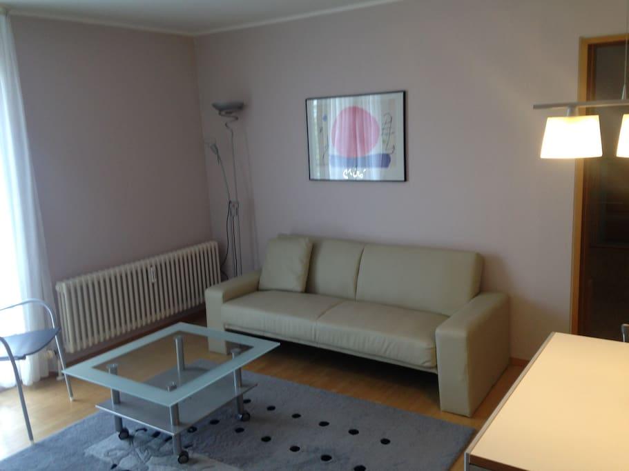 Wohnzimmer # 2 Raum Apartment