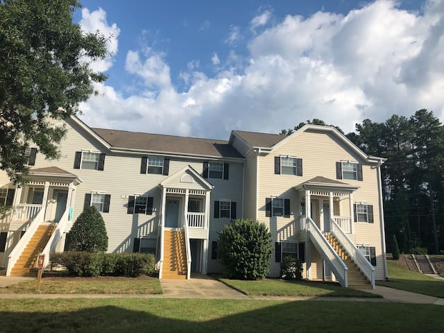 A Charming EuropeanTownhouse in Chapel Hill