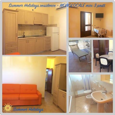 APPARTAMENTO MONOLOCALE AL MARE CON VERANDA - Foce Varano - Apartment