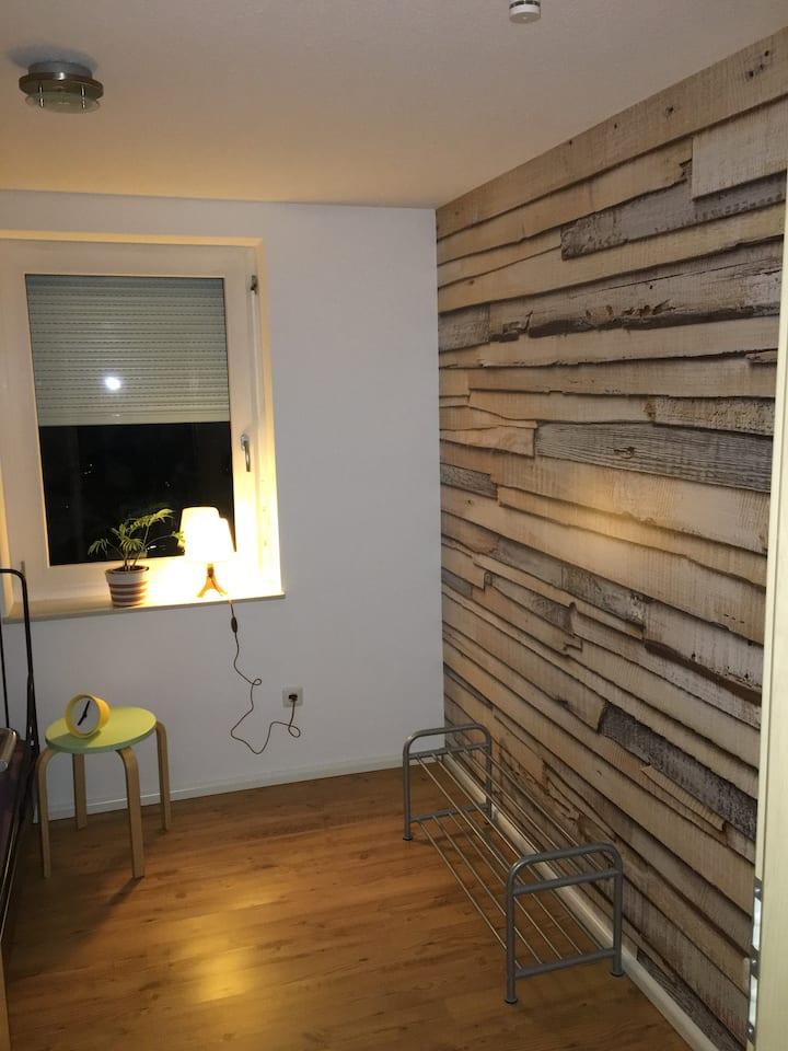 ❤️Kleines Zimmer mit eigenem Bad 5 km vom Bahnhof❤️