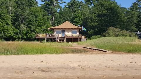 Beachhouse On Beautiful Sand Beach  Near Escanaba