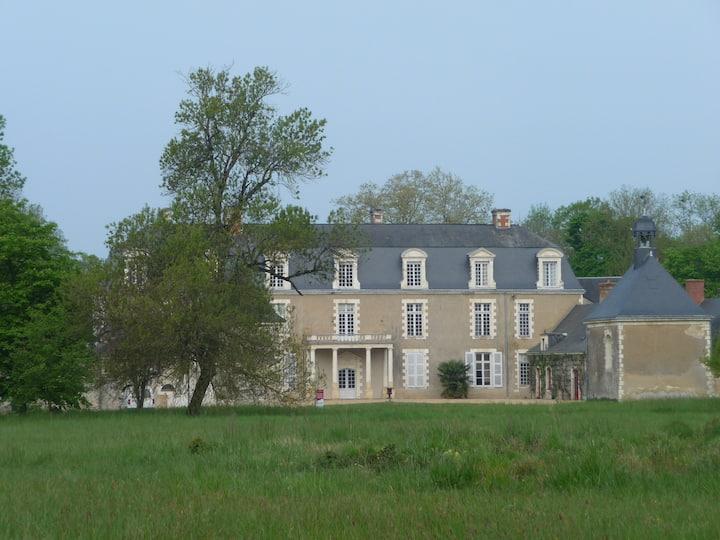 Aile sud du château du Plessis