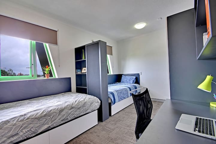 City Shared Room Male Only Ensuit - South Brisbane - Leilighet
