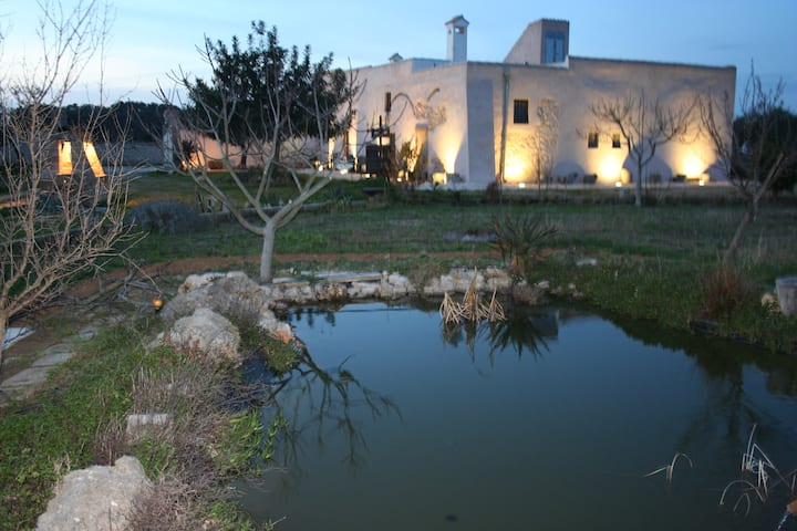 Masseria Mattiani XVII cent. swimming pool jogging