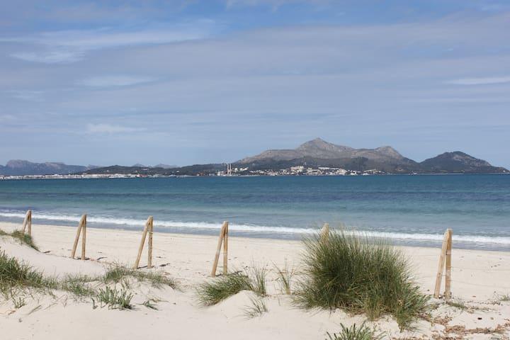 DUPLEX WITH GARDEN NEAR THE BEACH - Muro - Rumah