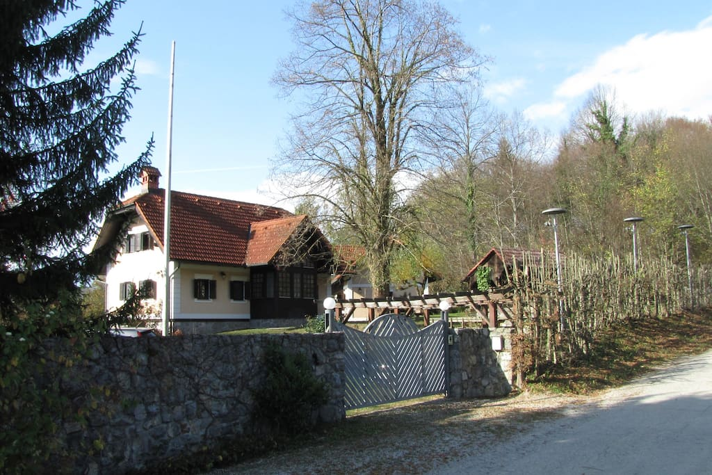 Entrance view in front of the house 1