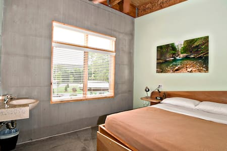 Our private rooms include a private sink, fan, reading light, and fresh linens.