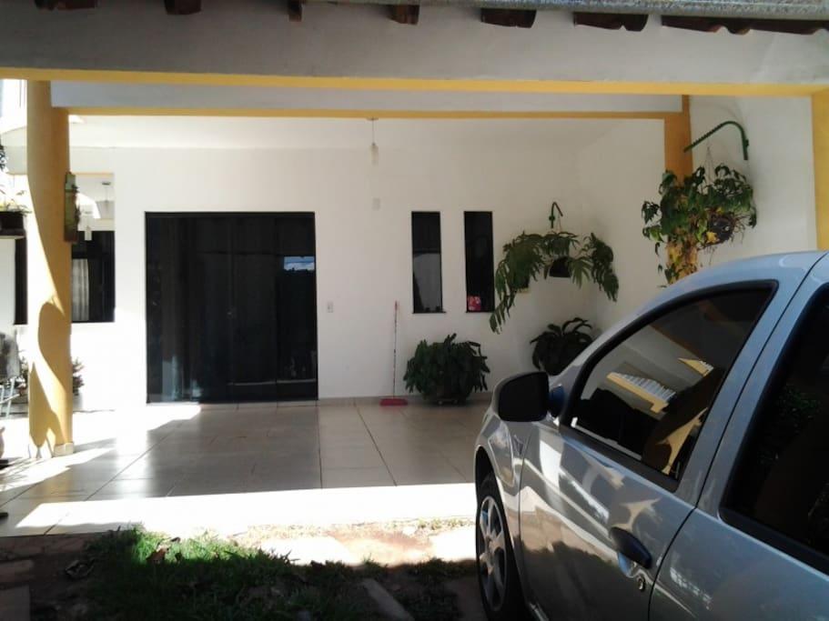 Garagem para 4 automóveis