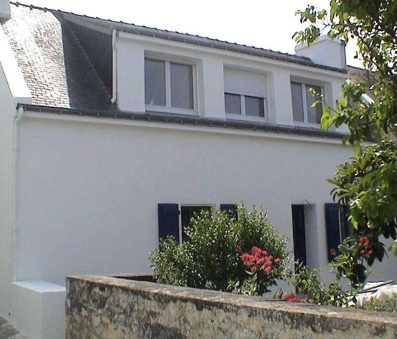 Maison de p cheur le de groix 7p houses for rent in groix brittany france - Maison pecheur bretagne ...