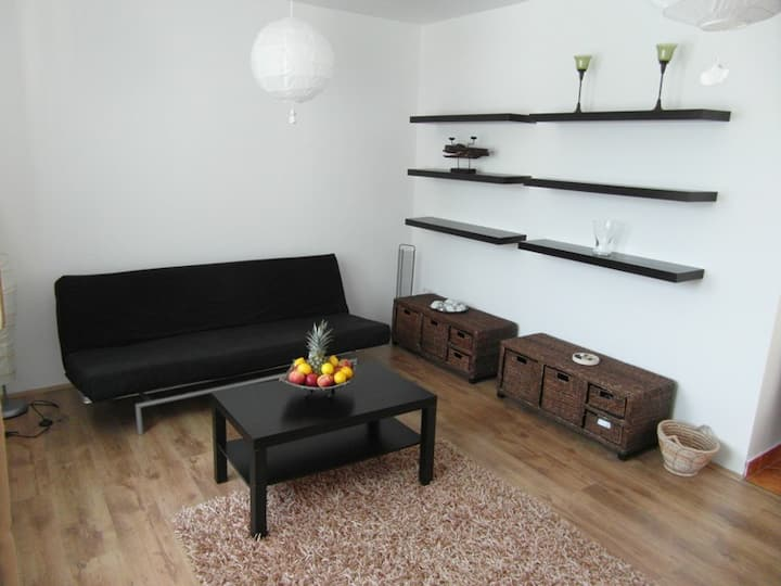 Zsolnay Apartment, Quarter is 50 m