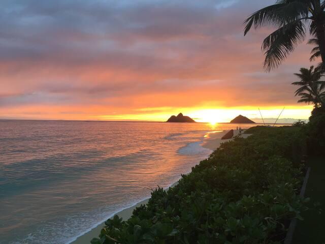 Lanikai Sunrise: 30 day rental minimum