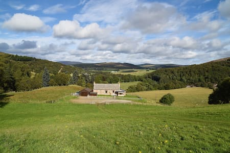 Highland cottage with breathtaking views - Moray
