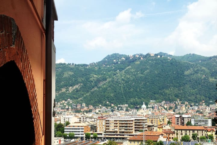 Home in Como, City View