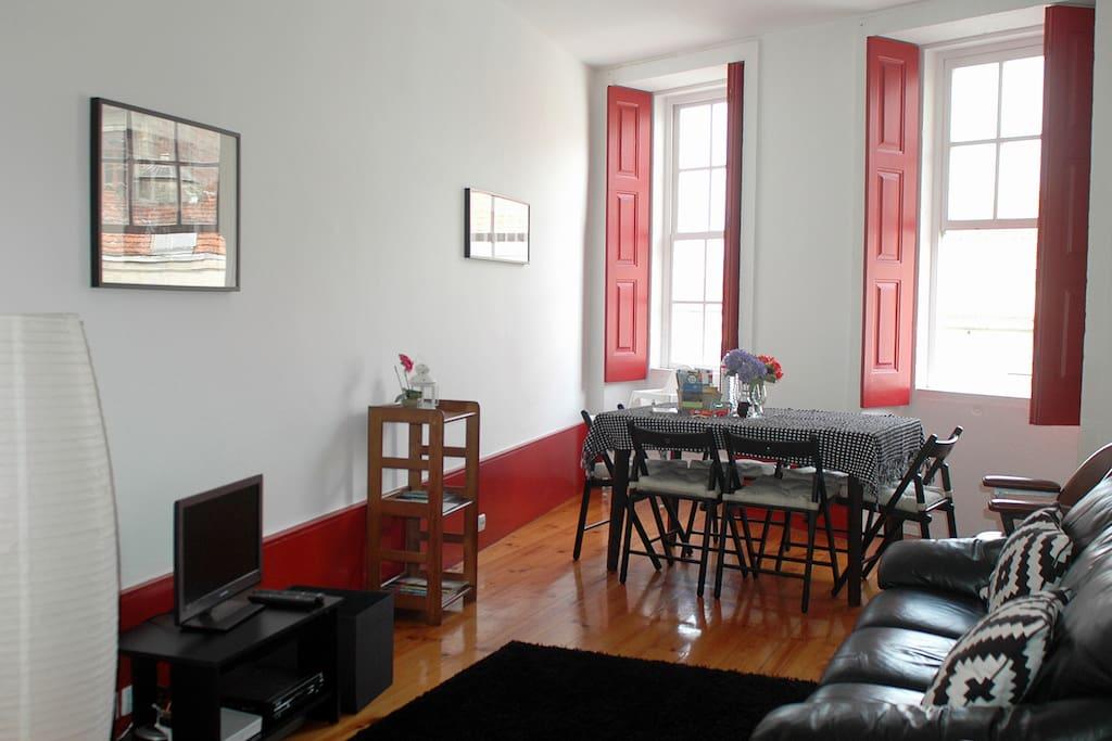 [PT]  Sala de Estar / Jantar     |     [ENG]  Living / Dining Room