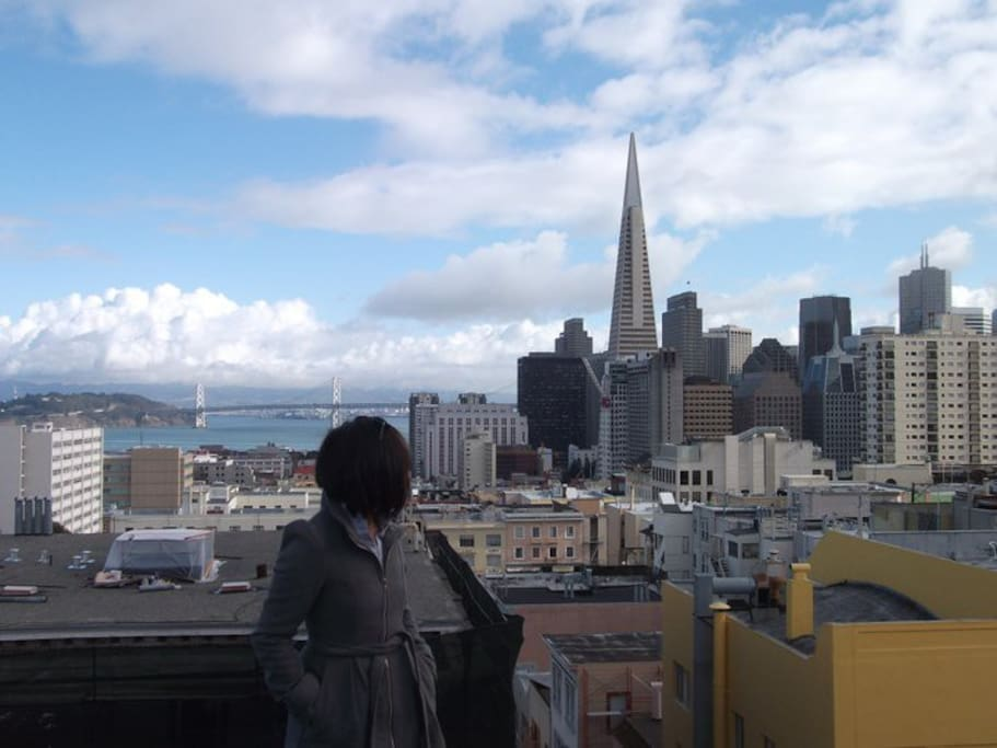 Can't beat the views from Russian/Nob Hill.