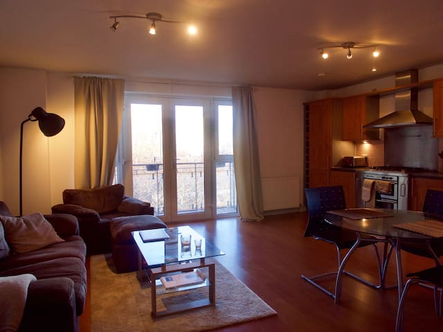 Bright + Modern 2 Bedroom Apartment in Leith