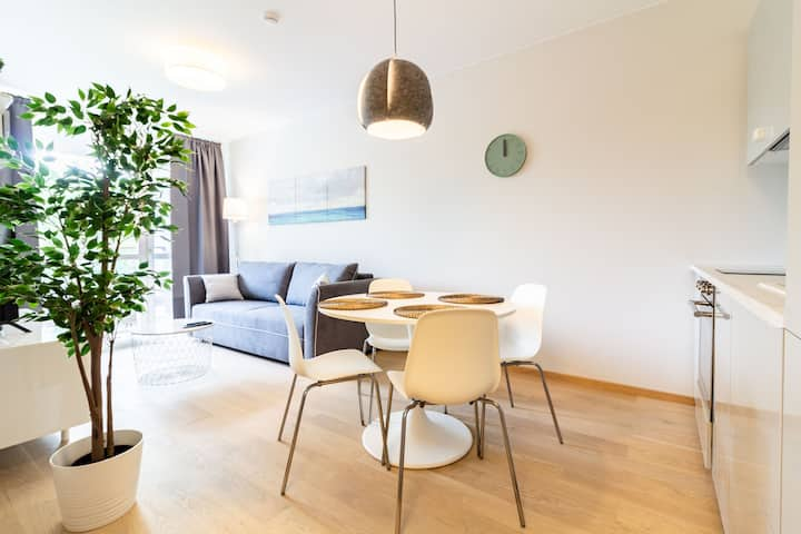 ⥣Smooth DEJA BLUE APT in the Heart of Palanga⥣