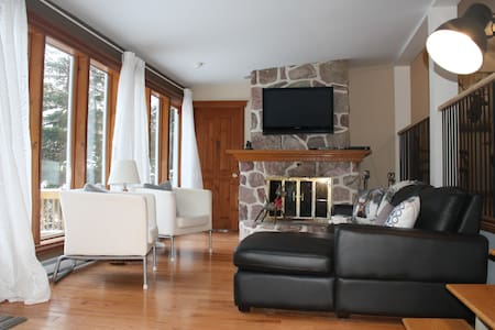 Eau Chalet - Saint-Adolphe-d'Howard - Serviced apartment - 2