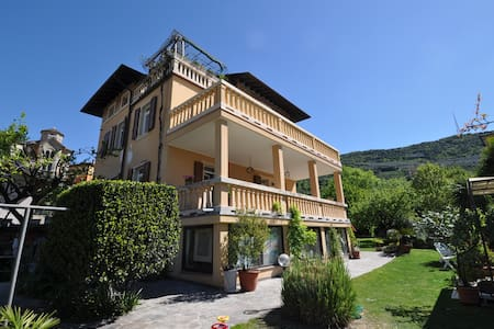 Placed in a very sunny, quite and nice area close to the Garda Lake, the apartment offers a big living room with a kitchen, a bedroom and a nice bathroom. A nice terrace giving a plus value to the apartment. Free Bike&Equipment deposit.