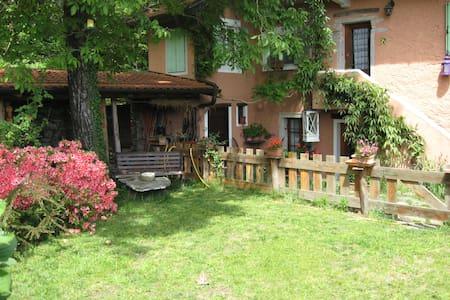 Das alte Rosa Haus von Ronché - Cannero Riviera
