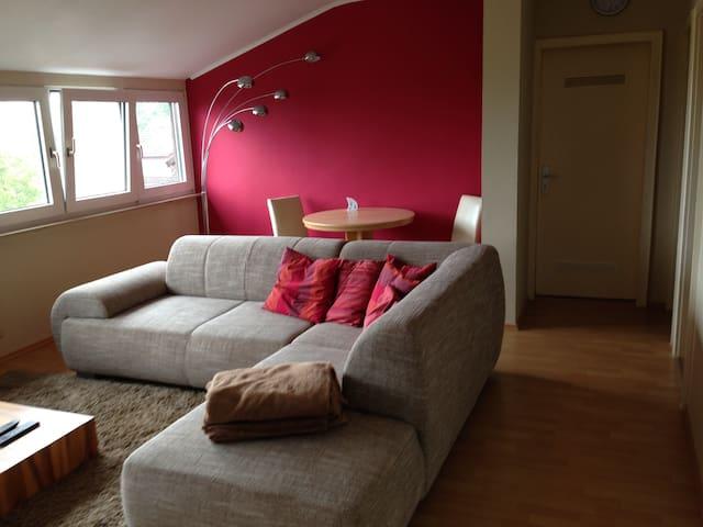 Coole Wohnung mit Weitblick - Bad Nauheim