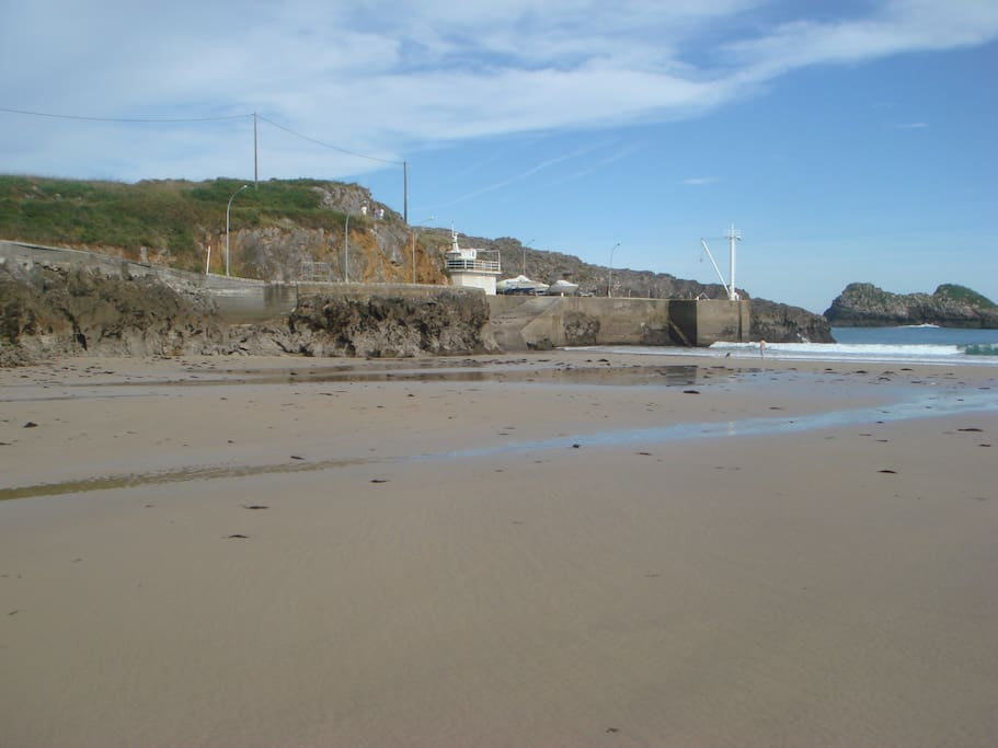 Playa Palombina, a 7 minutos a pie del alojamiento