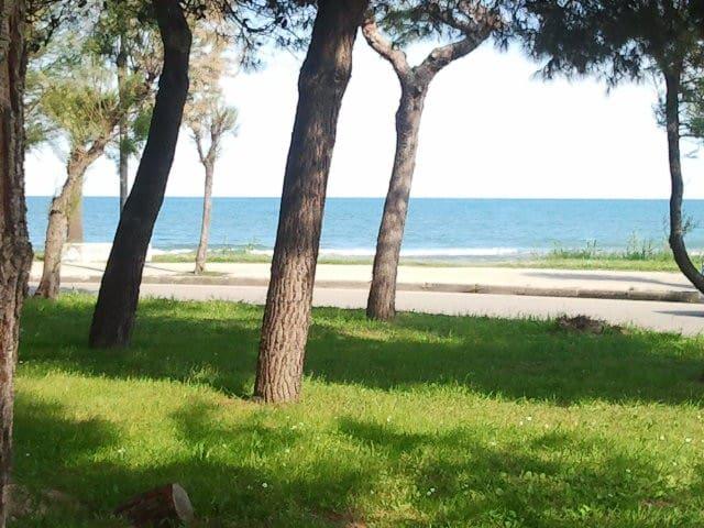 A 100 mt dal mare vicino ai servizi - Villa Rosa - Byt